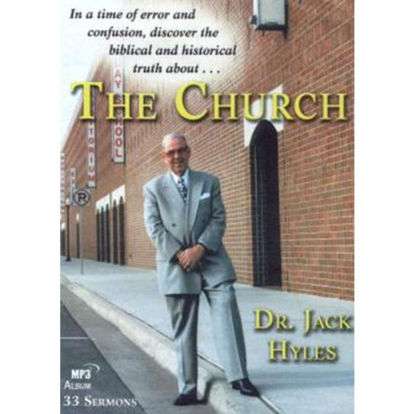 The Church - Dr. Jack Hyles - MP3 Disc